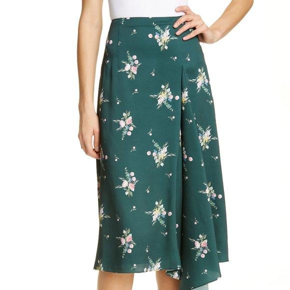 Ted Baker London Dresses & Skirts - Ted Baker Flourish Asymmetric Skirt